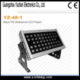 RGBWは96pcsx3w LEDの壁の洗濯機ライトを防水する