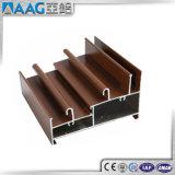 Profili di legno dell'alluminio del grano