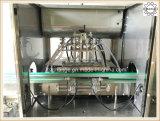 Maquinaria tampando de enchimento da pasta líquida