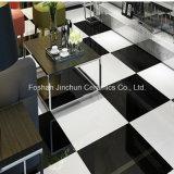 Mattonelle di pavimentazione Polished della porcellana eccellente del nero 9.5mm