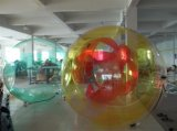 sfera di galleggiamento dell'acqua del raggruppamento gonfiabile del PVC/TPU di 0.7~1.0 millimetri