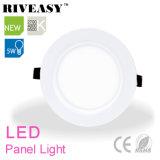 5W el panel redondo del acrílico LED con las luces del panel ligeras de Ce&RoHS LED