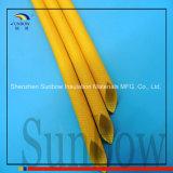 1.2kv de silicone Met een laag bedekte Koker van de Glasvezel van Sleeving van de Glasvezel