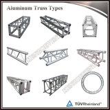 Braguero de aluminio de la luz del triángulo de la espita para el acontecimiento