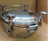 Edelstahl-hygienischer Kreisdruck-Einsteigeloch-Deckel