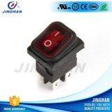 Inverseur à rappel utile rouge de Pin Kcd1-104G/Fs de la vente en gros 4