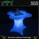 Banquete do hotel do pátio da cadeira que ilumina a mobília ao ar livre Ldx-Z02 da tabela do diodo emissor de luz