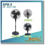 """Популярные 16 """" электрических 3 в 1 вентиляторе с перекрестным основанием"""