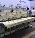 中国のコンピュータ化されたマルチヘッド刺繍機械6ヘッド刺繍機械価格