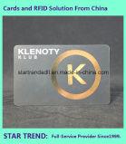 Quatro cartão da impressão Cr80 do Inkjet da cor com a listra magnética para o negócio