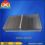 L'air a refroidi le radiateur en aluminium d'extrusion refroidi par individu