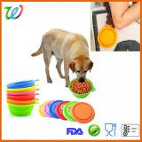 De hete Kom van de Hondevoer van het Silicone van de Reis van de Verkoop
