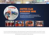 Emaillierter kupferner plattierter Aluminiumdraht