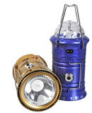 USB Rechargeable Portable Solar Emergency LED Camping Lantern
