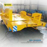 Chariot plat à véhicule de longeron de structure de cadre d'acier électrique de Bdg-25t