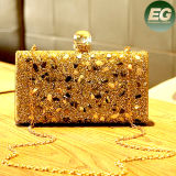 Novo Deisgn Lady Party Clutch Evening Bags Bolsa de luxo com strass com strass Eb787