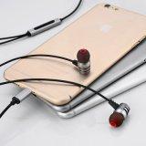 Écouteur stéréo mains libres en métal de haute performance pour la fiche de foudre de l'iPhone 7