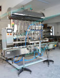 As 8 cabeças automáticas desnatam o enchimento para o molho do tomate/molho da salada/condimento/leite condensado/mel/dentífrico (FLC-800A)