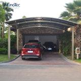 Carport individual de alumínio econômico para estacionamento