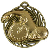 Design personnalisé Médailles de champion de métal attrayant pour l'activité sportive