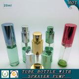Bouteille de empaquetage cosmétique du parfum 20ml de bouteille en verre réutilisable de jet