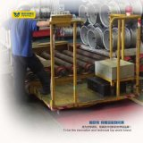 en el carril que maneja los portadores de la transferencia de la bobina de la carretilla con el dispositivo seguro