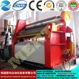 Máquinas hidráulica do rolamento/de dobra da placa de 4 rolo Mclw12CNC-30*2500 com padrão do Ce