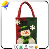 Kundenspezifische Weihnachtsgeschenk-Beutel und Weihnachtsweihnachtsmann-Handbeutel