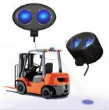青い点ポイントライト倉庫の安全燈