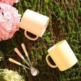 Taza de café de cerámica de la poder de la dimensión de una variable del color clásico de Matt
