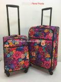 Bloemen Afgedrukte Van de Bedrijfs bagage van het Geval van het Karretje Zak