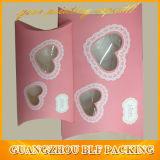 Rectángulo impreso papel caliente de la venta 2013 para la boda (BLF-GB067)