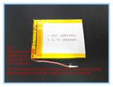 新しい3.7 Vのリチウムポリマー電池電池385570のタブレットのアクセサリ専門電池GPSの手段の走行のデータ記録機
