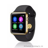 De nieuwe 2ND Iwo Waterdichte Horloges van de Monitor van het Tarief van het Hart van het 1:1 Mtk2502c voor Ios van de Telefoon en Androïde Smartphones