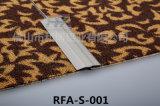 Cubierta plana de aluminio de la alfombra