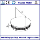 Stainless Steel Handrail End Cap with Flat Top for Railing