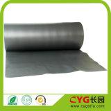 Reg extrema y grafito Presupuesto Alfombra Underlay 7 mm gruesa espuma PE de calidad superior de la arpillera