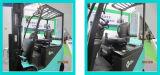 Forklift de serviço público de luxe de Midback Assento-Preto