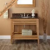 Vanité bon marché de salle de bains de type d'hôtel en bois Fed-1803 solide