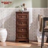 Governo verniciato classico di vanità di memoria della stanza da bagno della quercia rossa (GSP14-008)