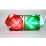 Fahrstraße Light 200mm rotes Kreuz Green Arrow LED Traffic Light