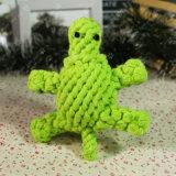 Brinquedos da mastigação do animal de estimação da tartaruga da corda do algodão