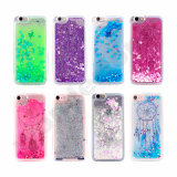3D創造的で贅沢なBlingのきらめきの輝きの液体Case iPhone 6sのため