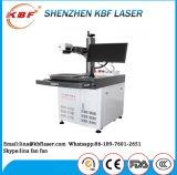 Machine économique d'inscription de borne de laser de fibre de Tableau de commande numérique par ordinateur pour les aciers inoxydables, métaux, ABS, plastiques