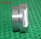 Cnc-maschinell bearbeitenteil Aluminium verwendet für Maschinerie in der Qualität