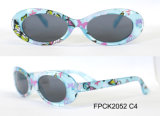 Óculos de sol plásticos camuflar quente da forma da venda para miúdos