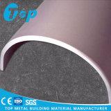 Panneau simple en aluminium incurvé pour des fléaux de revêtement et des coins de la construction