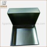贅沢なマットの黒い真珠のボール紙の荷箱のギフト用の箱の紙箱
