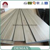 Pavimentazione strutturata di legno del vinile del PVC di uso di Indorr