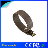 China Manufacter regalo USB pulsera de cuero Pen Drive (JL12)